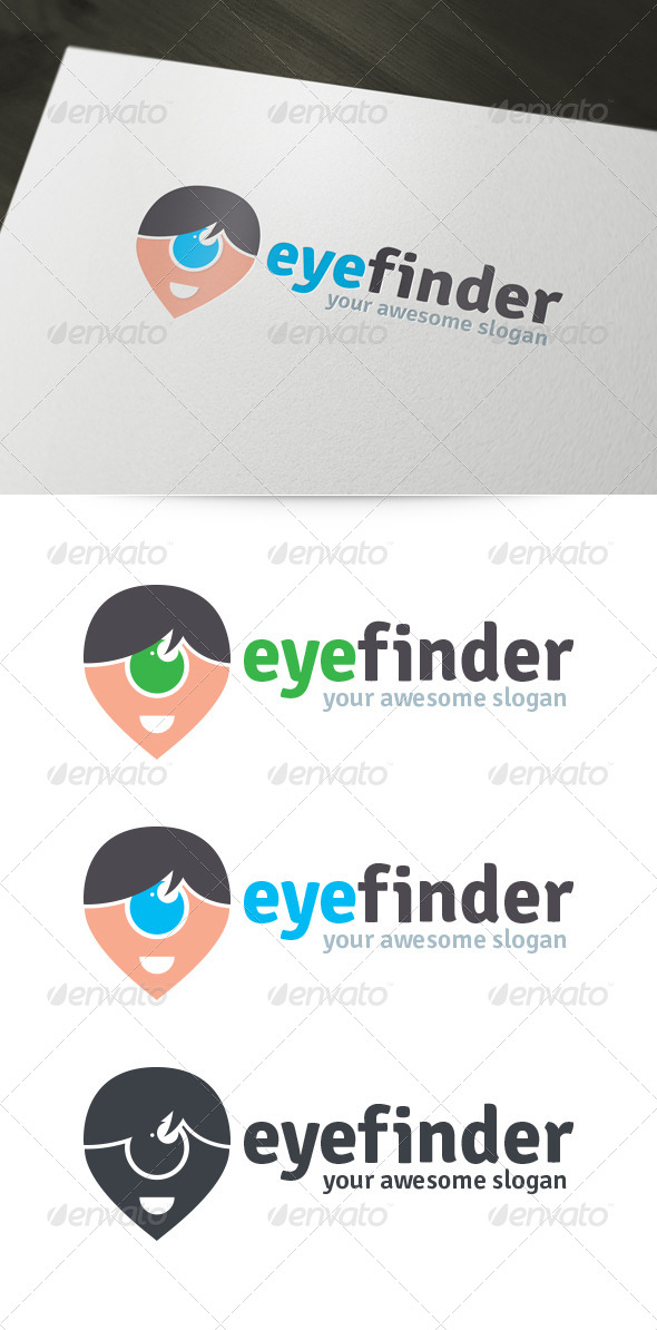GraphicRiver Eye Finder Logo 6251765