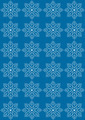 White Snowflakes on a Blue Background.  - PhotoDune Item for Sale