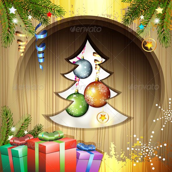 GraphicRiver Christmas Balls and Gifts 6251859