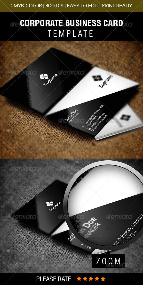 GraphicRiver Supreme Business Card 6251920