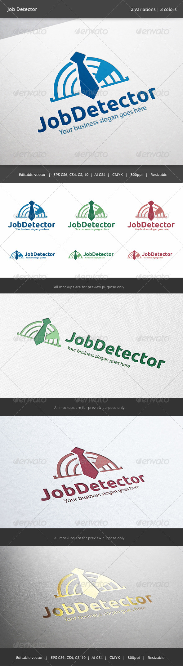 GraphicRiver Job Finder Logo 6252049