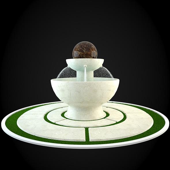 3DOcean Fountain 032 6252125