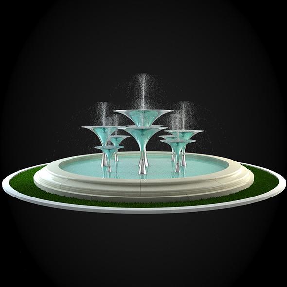 3DOcean Fountain 033 6252179