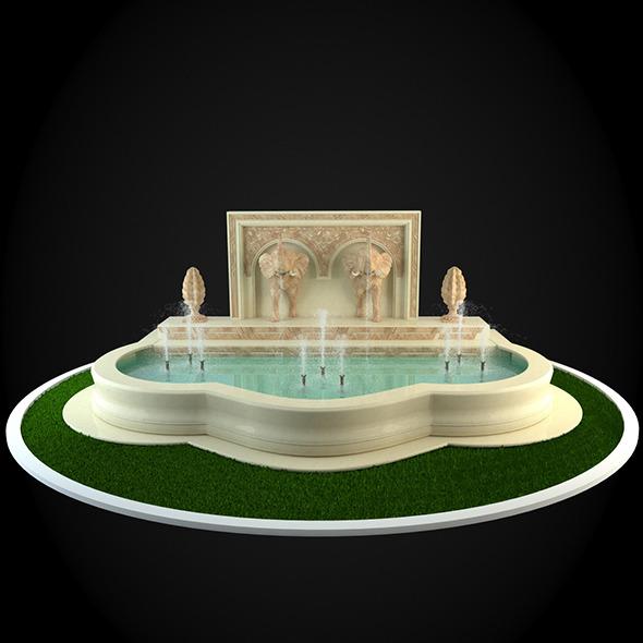 3DOcean Fountain 034 6252261
