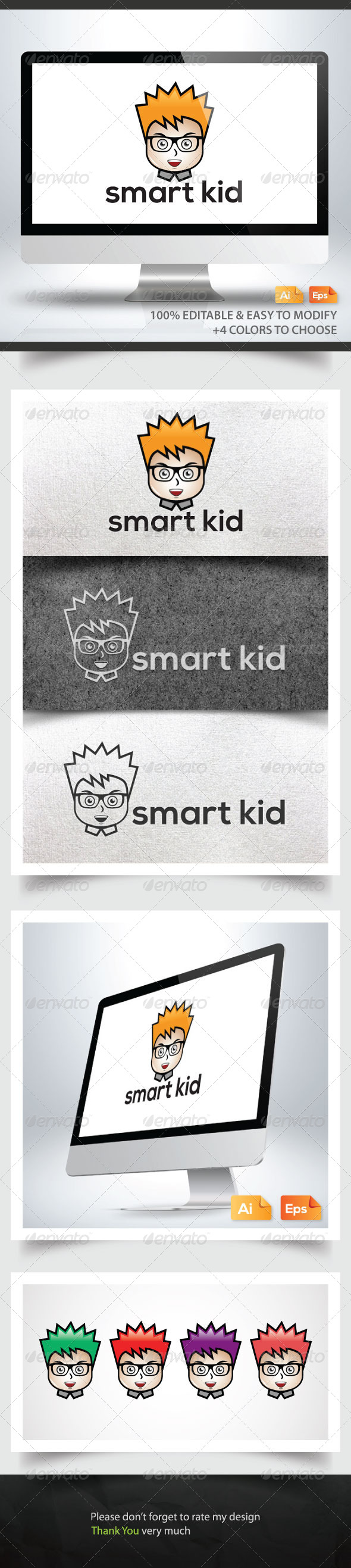 GraphicRiver Smart Kid 6252270
