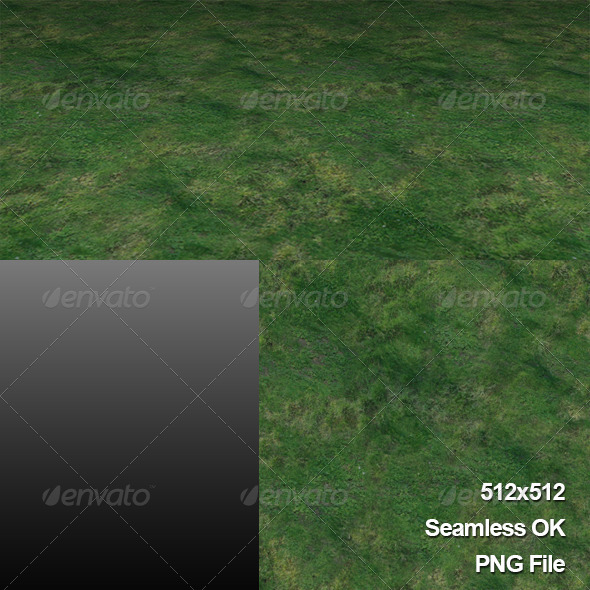 Ground_Grass_Texture_Tile001 - 3DOcean Item for Sale