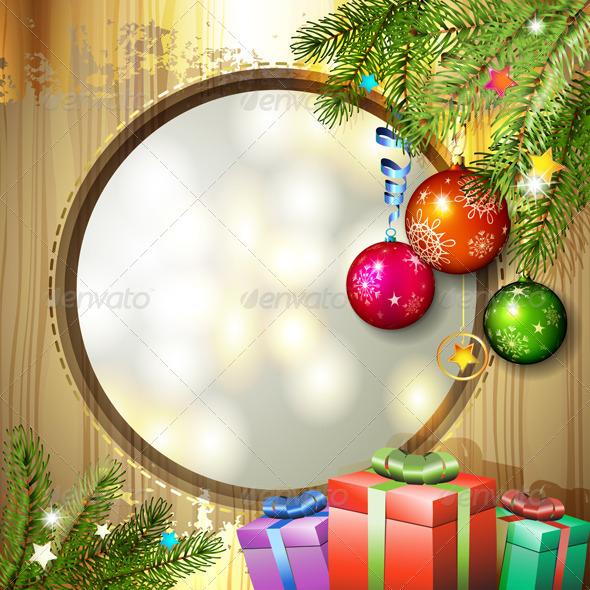 GraphicRiver Christmas Balls and Gifts 6252374