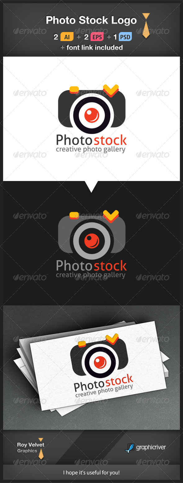 GraphicRiver Photo Stock Logo 6252539
