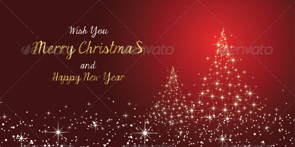 GraphicRiver Merry Christmas and New Year s Card 6252323
