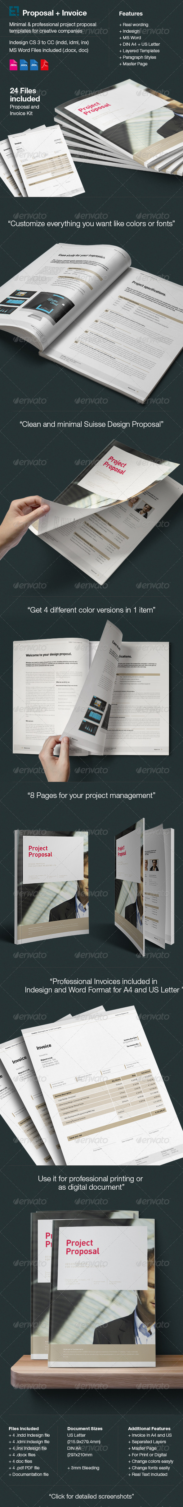 GraphicRiver Proposal and Invoice Kit 6166556