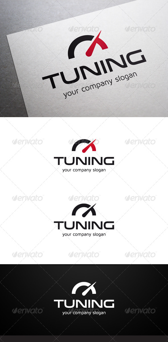 GraphicRiver Tuning Logo 6252654