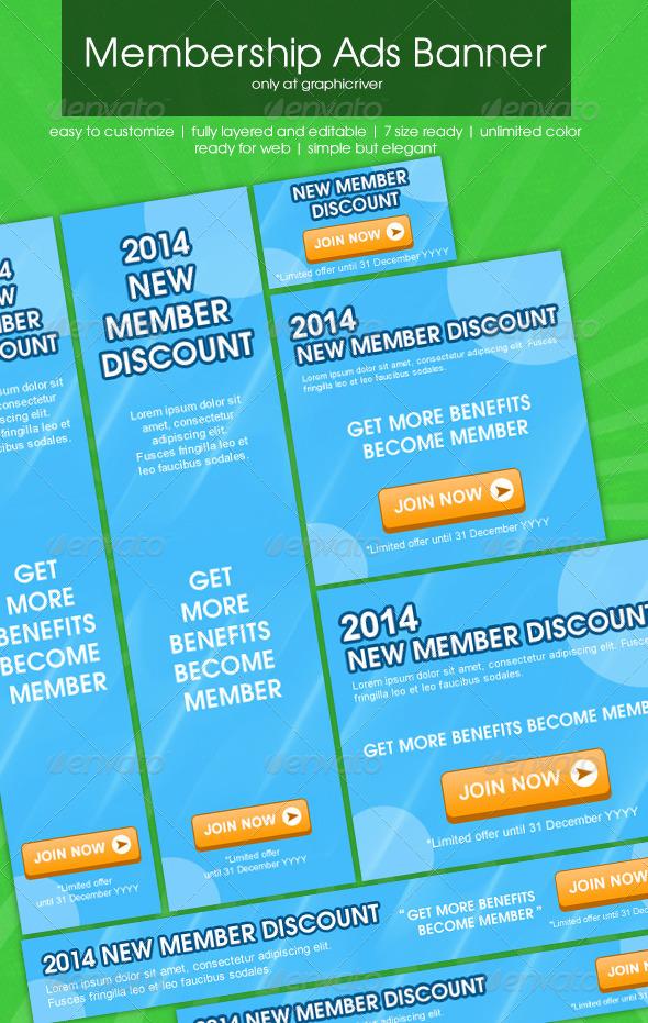 Membership Ads Banner