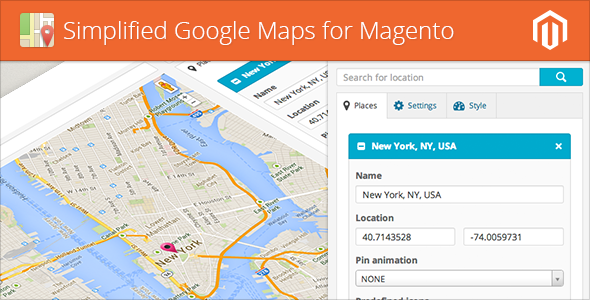 CodeCanyon Simplified Google Maps for Magento 6252763