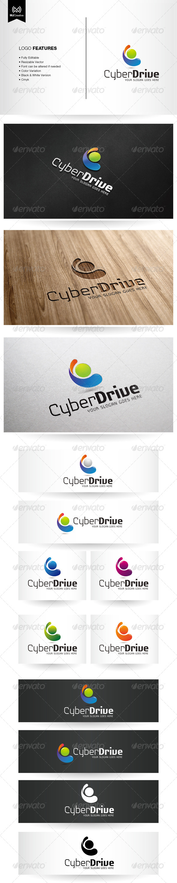 GraphicRiver Abstract Letter C Logo 6252778