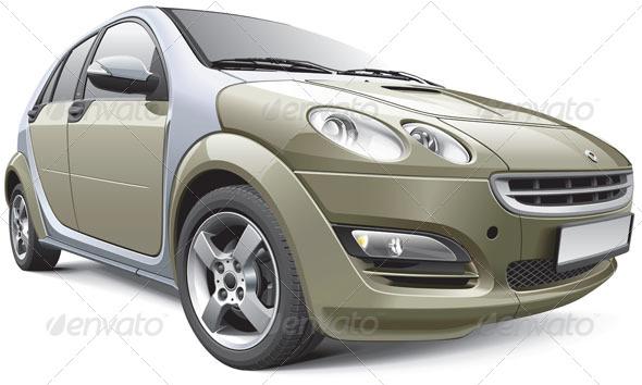 GraphicRiver European Subcompact Hatchback 6252787