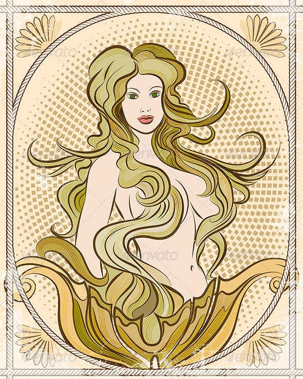 GraphicRiver The Mermaid 6253250