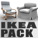 IKEA Sofa & Armchair Pack