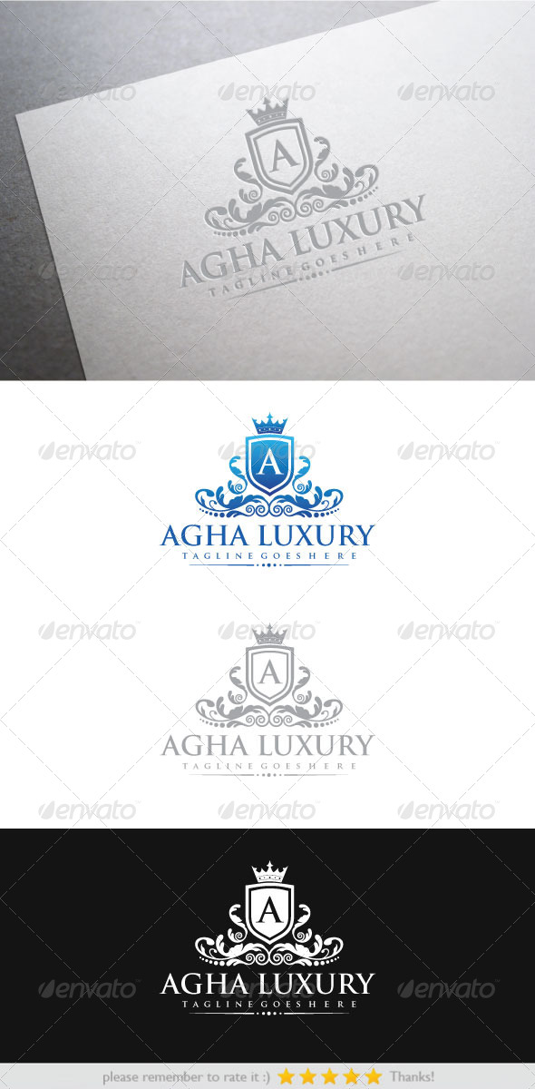 GraphicRiver Agha Luxury 6253922