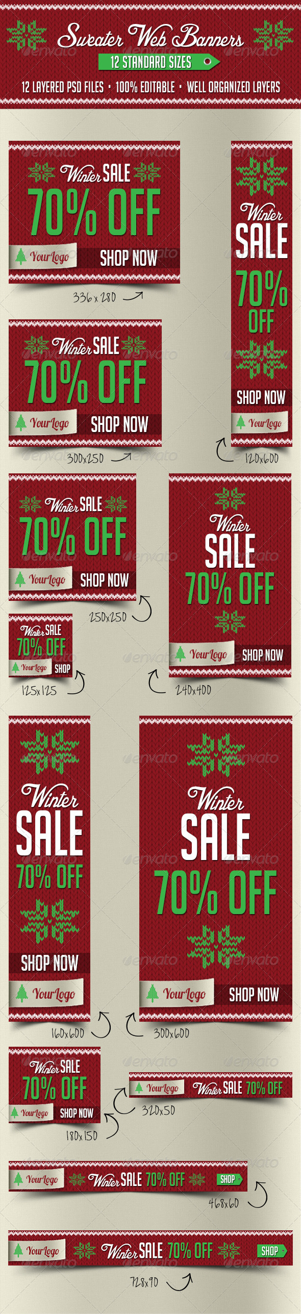 GraphicRiver Sweater Web Banners 6254327