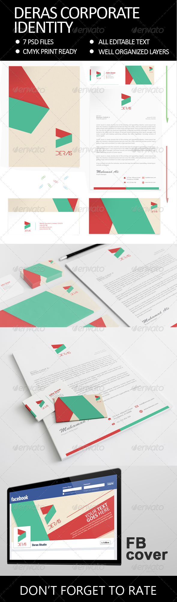 GraphicRiver Deras Corporate Identity 6254432