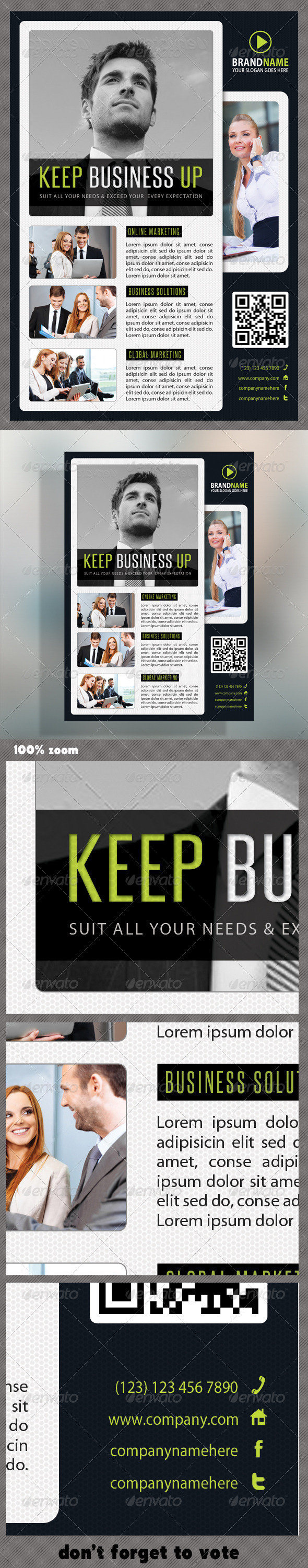 GraphicRiver Corporate Product Flyer 51 6254851