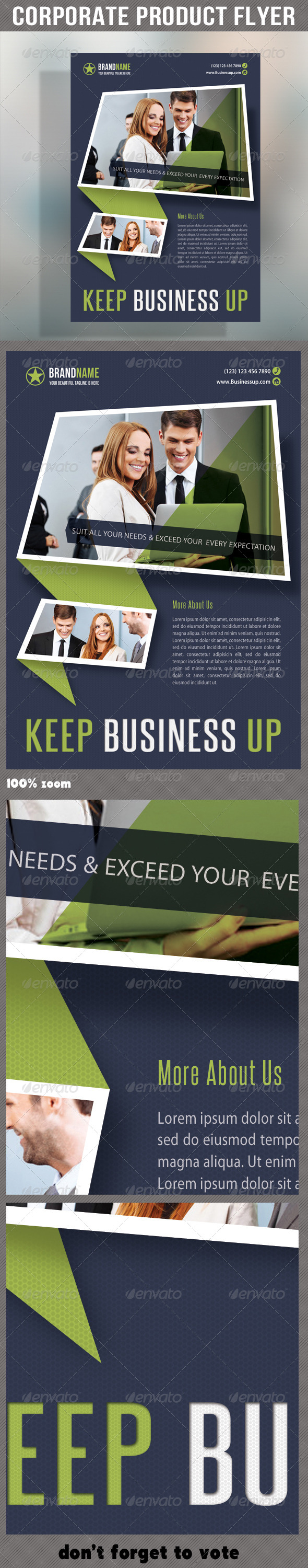 GraphicRiver Corporate Product Flyer 52 6255011