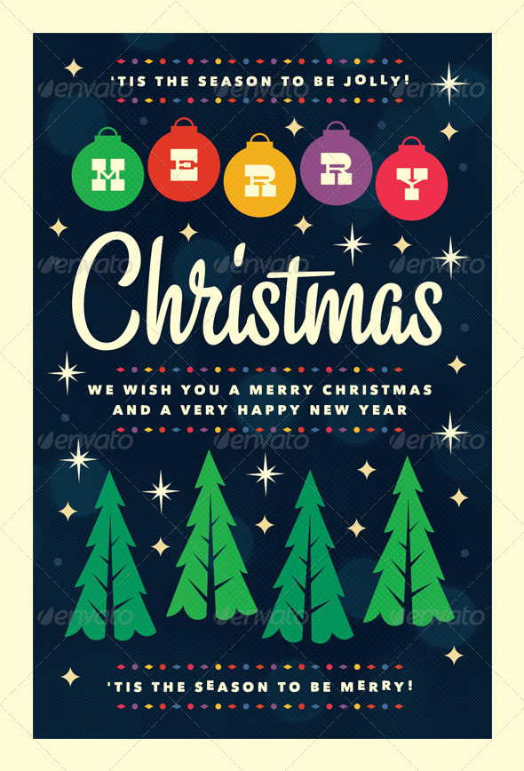 GraphicRiver Merry Christmas Flyer Template 6255025