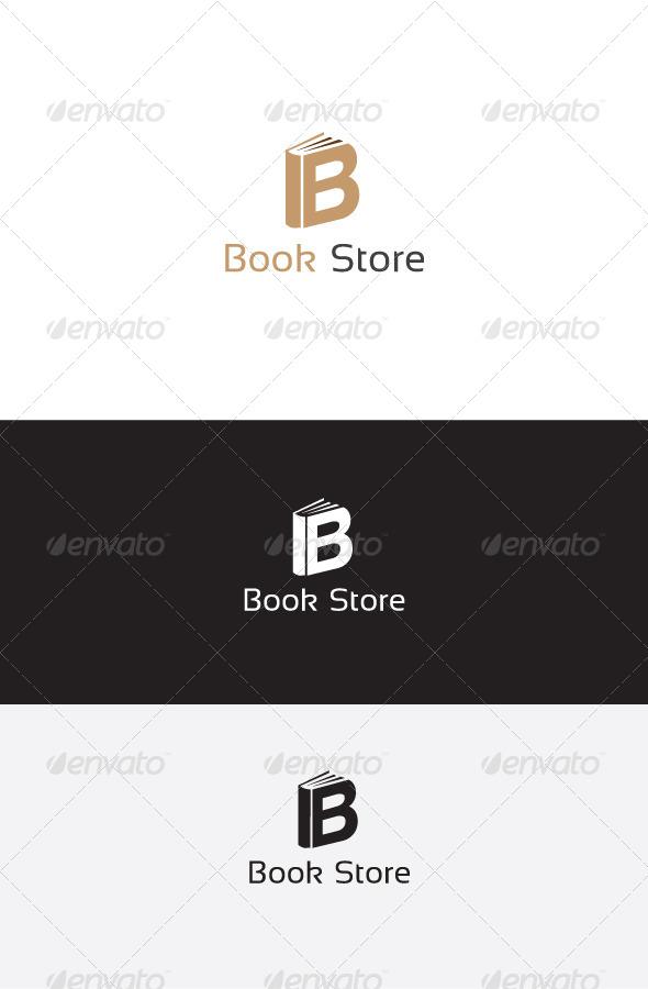GraphicRiver B Letter Book Store Logo 6255097