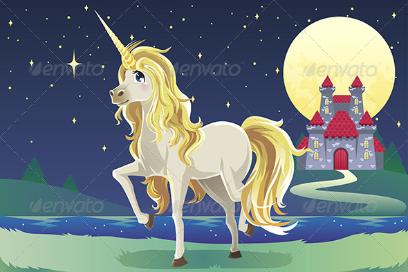 Unicorn in the Castle