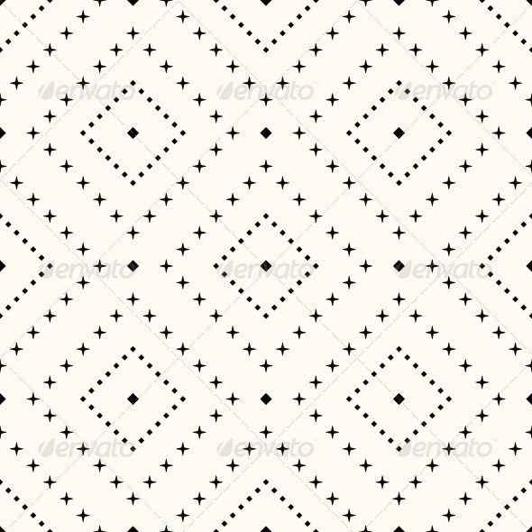 GraphicRiver Vector Seamless Retro Pattern 6255481
