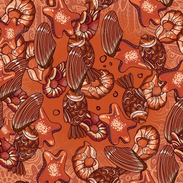 GraphicRiver Seamless Chocolate Pattern 6255799