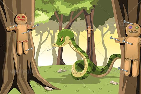 GraphicRiver Angry Snake 6255858