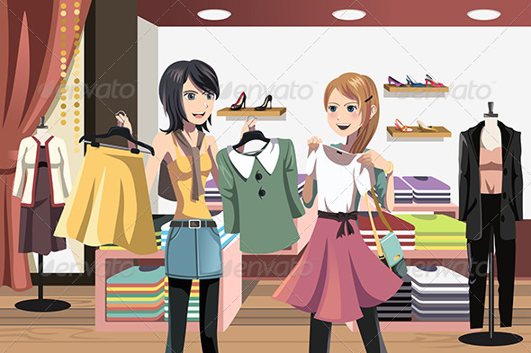 GraphicRiver Shopping Women 6256163