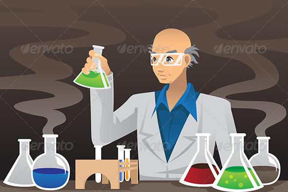 GraphicRiver Scientist in Lab 6256220