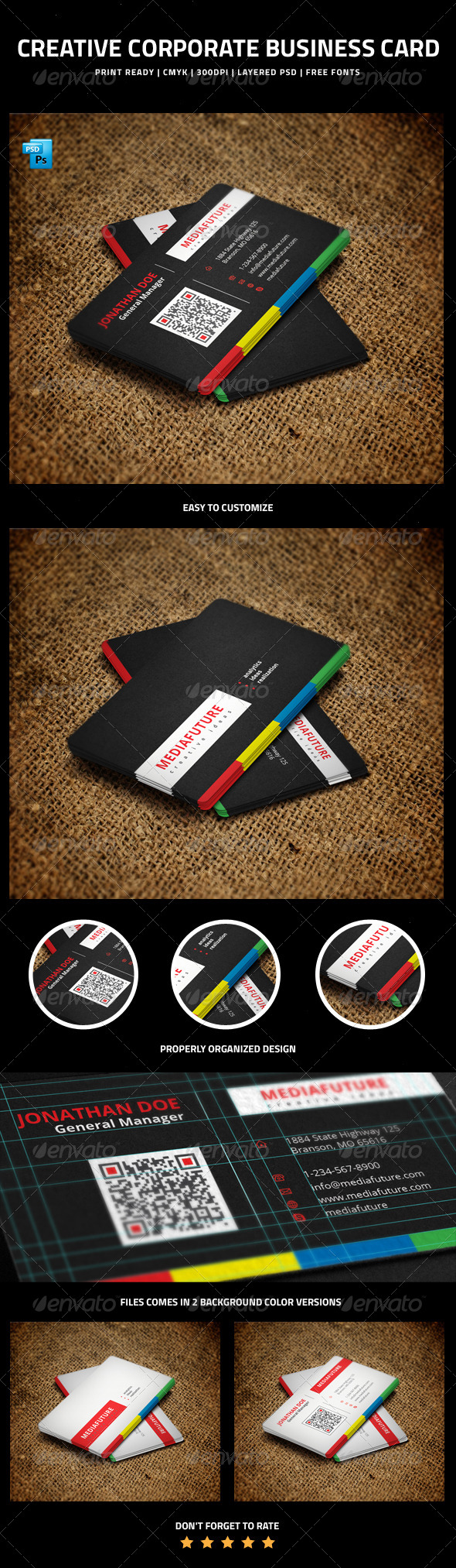 GraphicRiver Creative Corporate Business Card 6256298