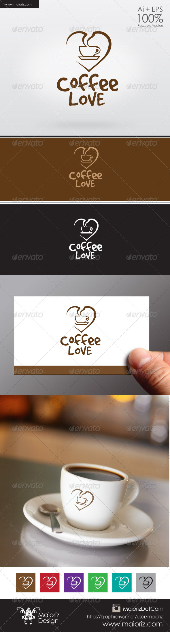 GraphicRiver Coffee Lover Logo 6256581