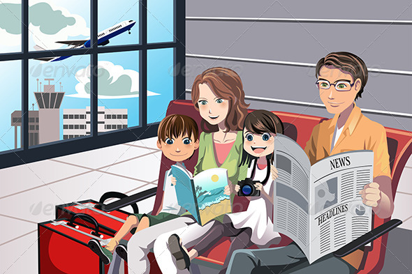 GraphicRiver Family Vacation 6257024