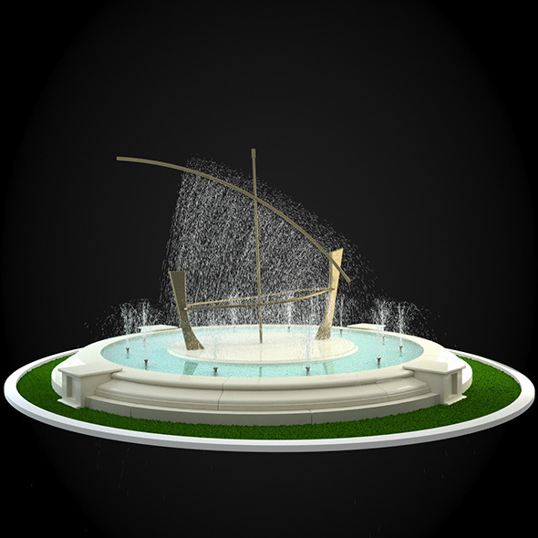 3DOcean Fountain 037 6257097