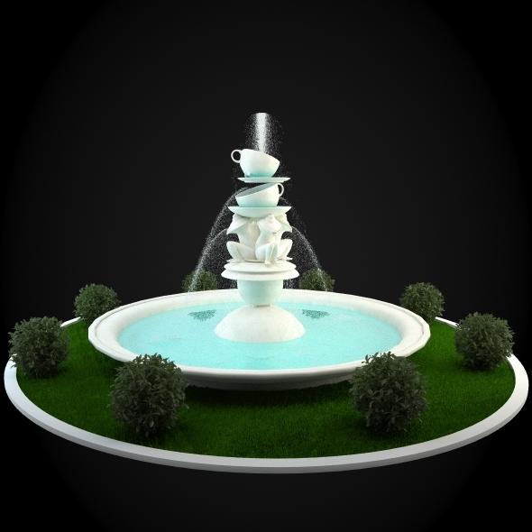 3DOcean Fountain 036 6257114