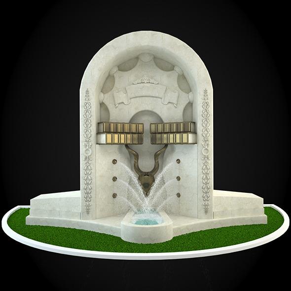 3DOcean Fountain 038 6257115