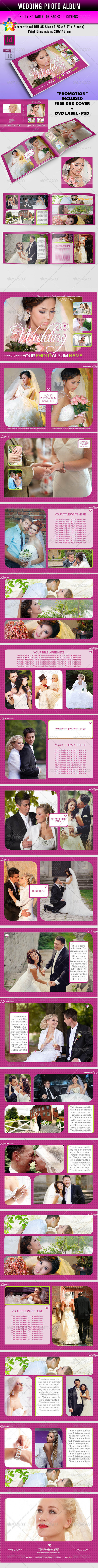 GraphicRiver My Wedding Photo Album v.1 indd 6240487