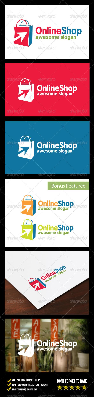 GraphicRiver Online Shop Logo 6258111