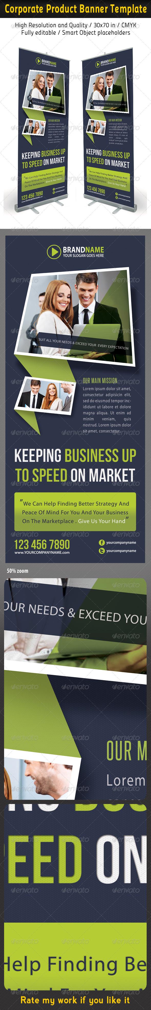 Corporate Multipurpose Banner Template 32 - Signage Print Templates