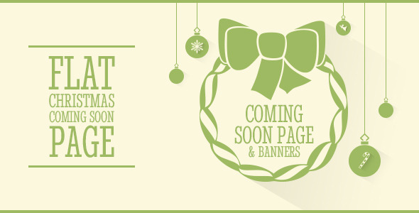 ThemeForest Clipsa Christmas Coming Soon Page 6259753