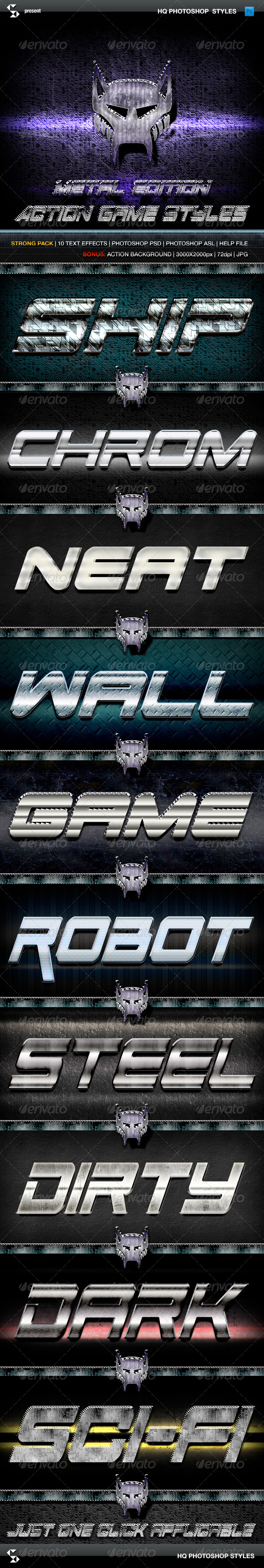 GraphicRiver Action Game Styles Metal Edition 6259885