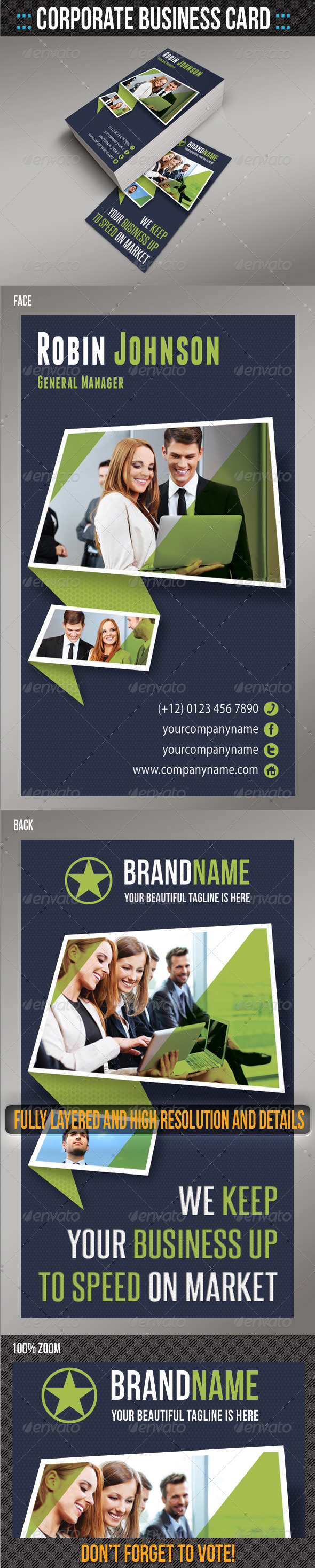 GraphicRiver Corporate Business Card 05 6260126