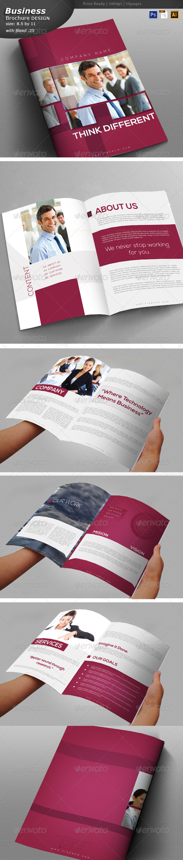 GraphicRiver Services Brochure Design 6237890