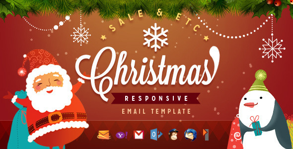 ThemeForest Christmas Responsive Email Template 6261296