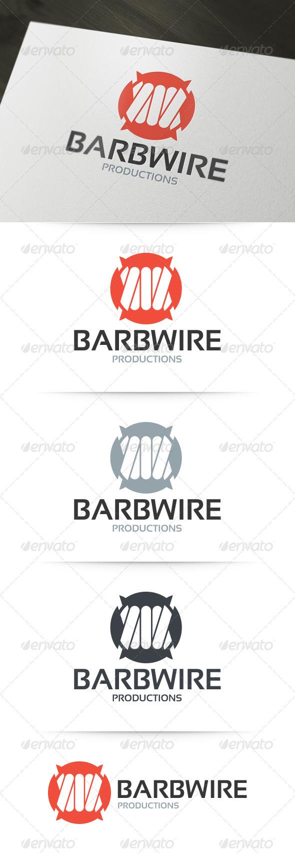 GraphicRiver Barbwire Logo Template 6261464