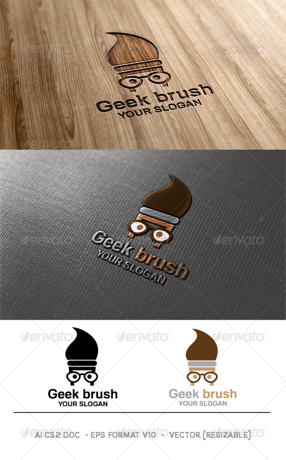 Geek Brush Logo